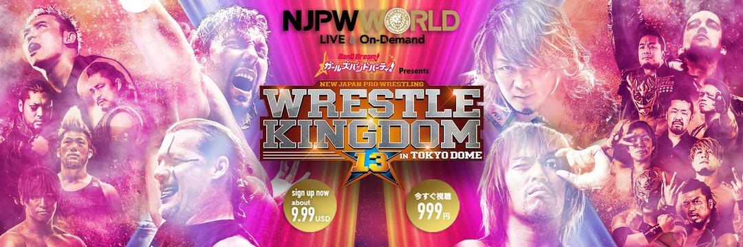 The Wrestling Insomniac: Wrestle Kingdom 13