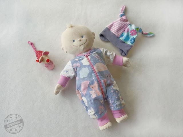 EGGsclusiv: Jolly Jumper für Puppen - Lybstes, Icy MiniMop - Aefflyns to Go