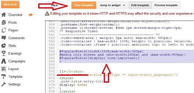 Adding CSS for The Sticky Sidebar Widget