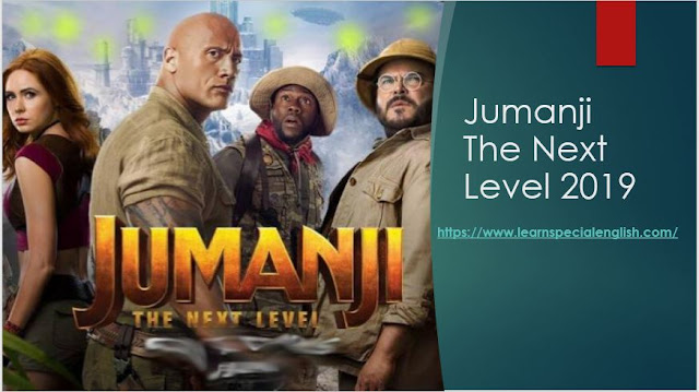 Learn/Practice English with MOVIES (Lesson #3) Title: Jumanji