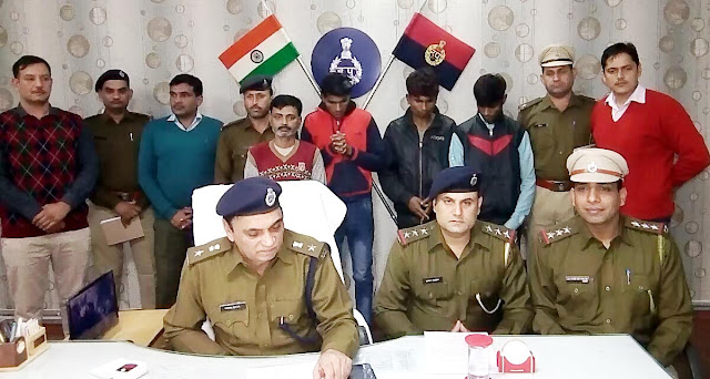 Faridabad police, four absconding, three absconding will seek Interpol's help in mobile phone theft case