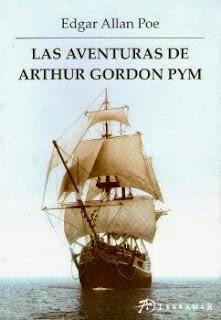 Portada del libro las aventuras de Arthur Gordon Pym descargar pdf