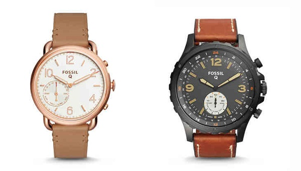 FOSSIL debuts Smart Analog Watches