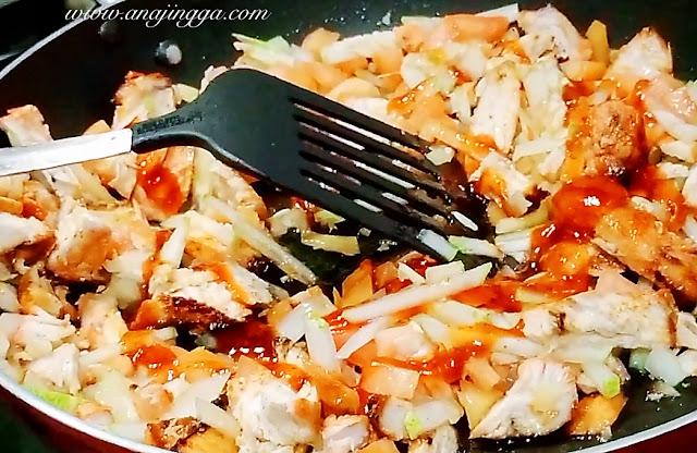 Resepi kebab ayam guna air fryer