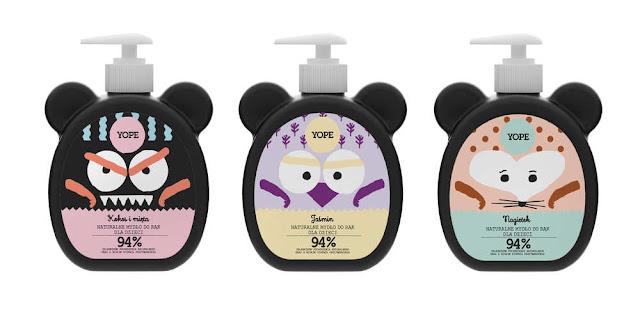 Yope mydło w płynie nawilżające o zapachu werbeny