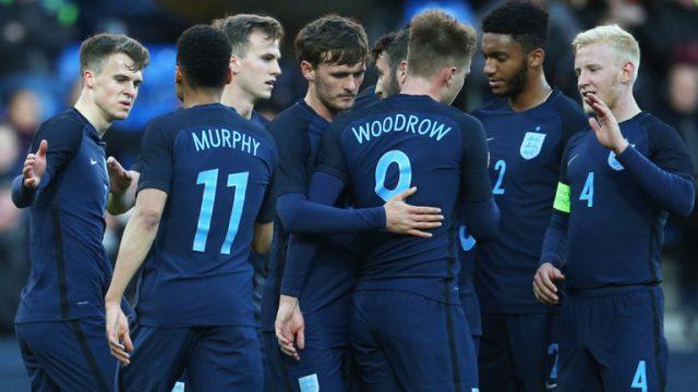 Inggris U-21 vs Jerman U-21