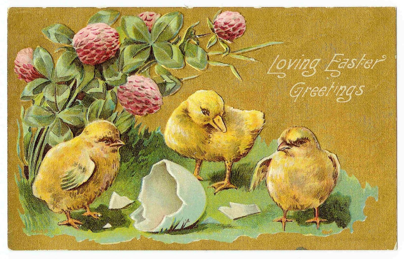 vintage spring clip art - photo #9