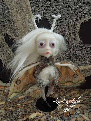 moth art doll lulusapple lulu lancaster