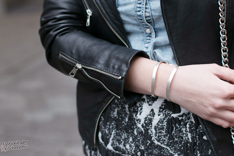 Blogger, Modeblogger, Fashionblogger, Fashion, Mode, Outfit, Look, H&M Bluse, COS Rock, Zara Jacke, Rebecca Minkoff Tasche, Casual Look