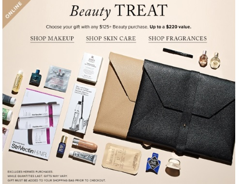Hudson's Bay Free Beauty Treat Gift + $10 off Holiday Fragrance Deals