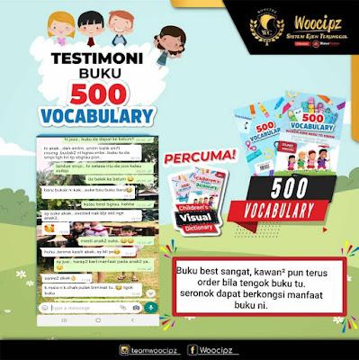 Buku 500 Vocabulary, Buku Pendidikan Viral, Buku Pendidikan 500, Testimoni Buku, Vocabulary, Buku Pendidikan 500 Vocabulary Yang Terbaik Untuk Kanak - Kanak Hingga Dewasa,