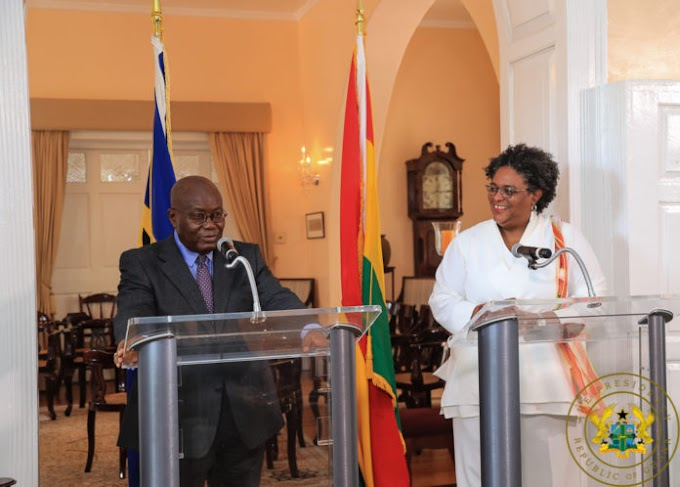 We're grateful for your timely support – Barbados Premier to Akufo-Addo