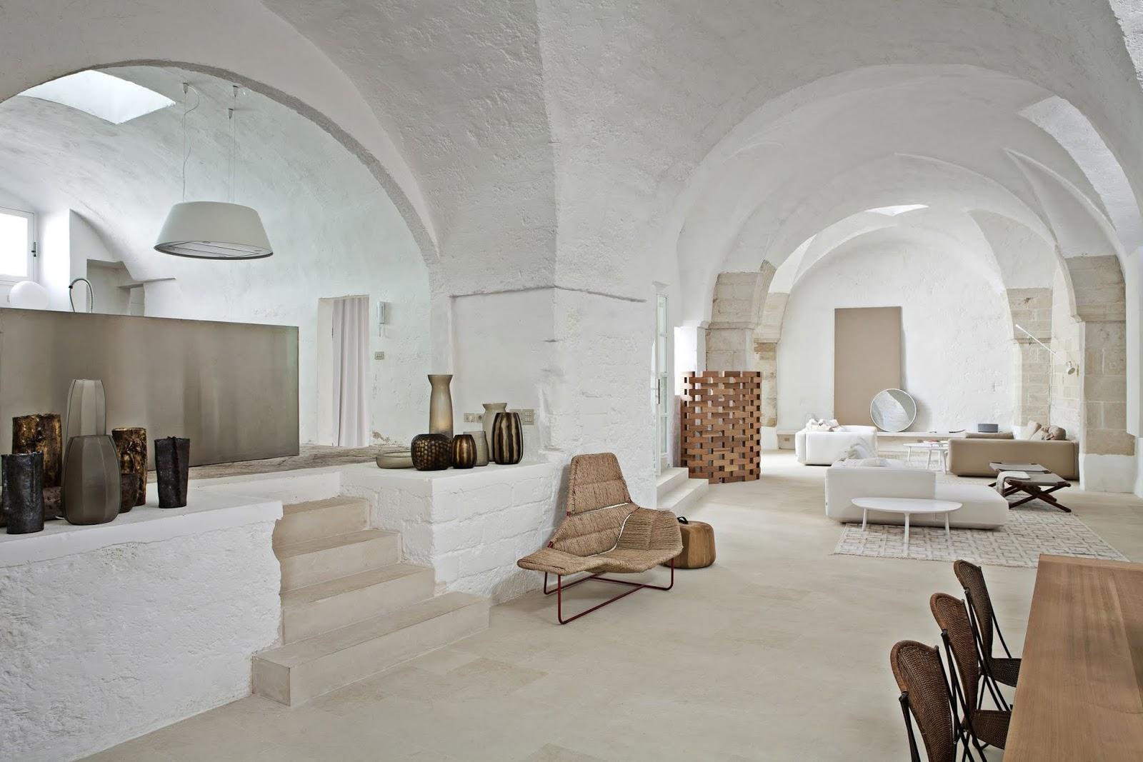 La espectacular casa de dos arquitectos italianos en Puglia
