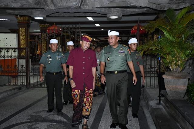 Kasum TNI Hadiri Peringatan Dharma Santi Nasional di Bali