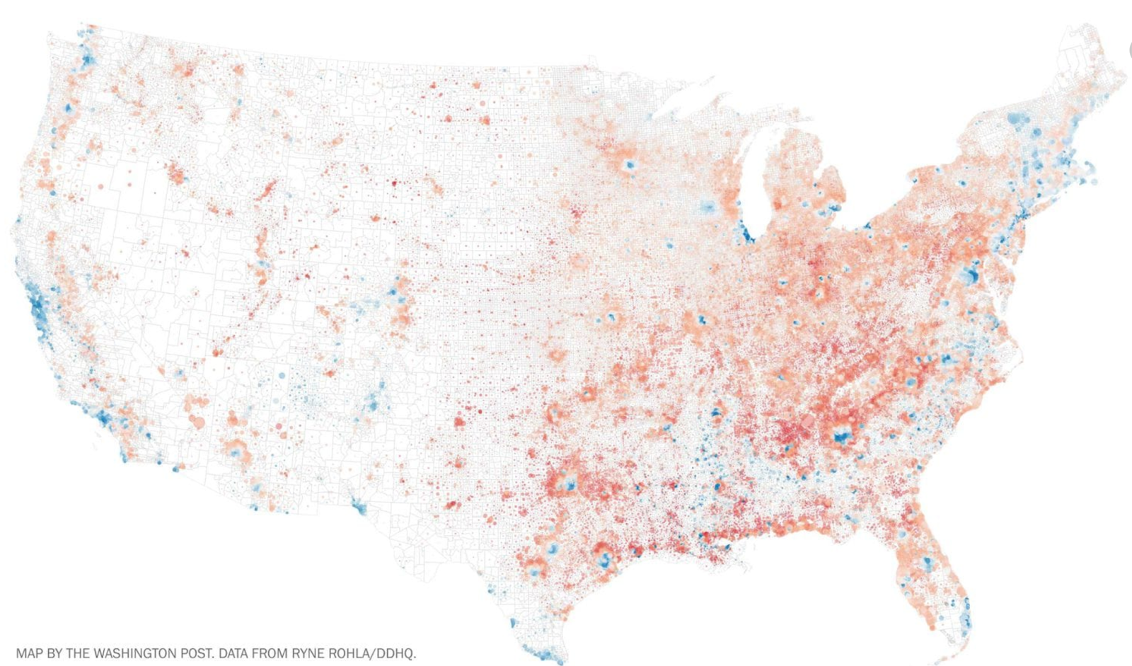 this map takes the very same data yet is designed to ameliorate the form it considers the underlying problems of its distribution and the geographies it is