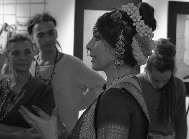 Danza Indiana Bharata Natyam Napoli Maria Luisa Sales