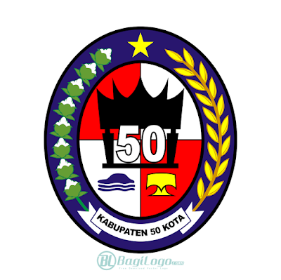 Kabupaten Lima Puluh Kota Logo Vector