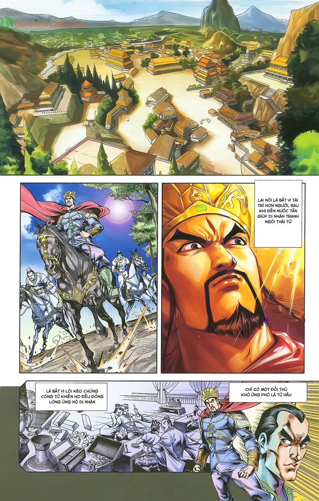Tần Vương Doanh Chính chapter 28 trang 21