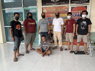 Resmob Polres Wajo Kembali Amankan DPO Curanmor Asal Desa Rumpia Di Sulteng