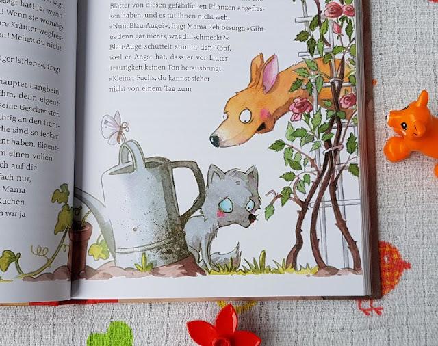 """Kirsten Boies """"Vom Fuchs, der ein Reh sein wollte"""": Ein Kinderbuch vom Fremdsein und der Herzensentscheidung für ein Pflegekind. Mama Reh hat ein gutes Herz und nimmt das Fuchs-Kind bei sich auf."""