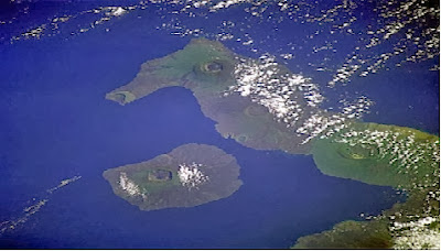 5 Pulau berbentuk aneh di bumi - DD-unik