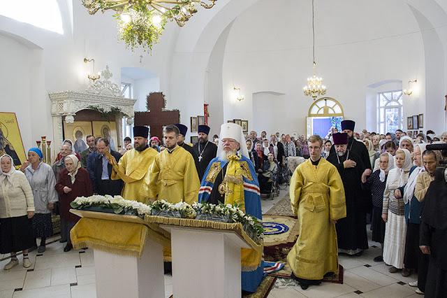 Освящение храма во имя святого пророка Самуила