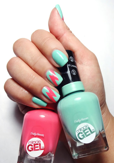 Loco Lightening Nail Art
