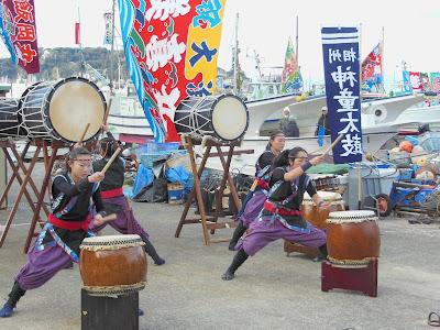 鎌倉:船祝い・神童太鼓