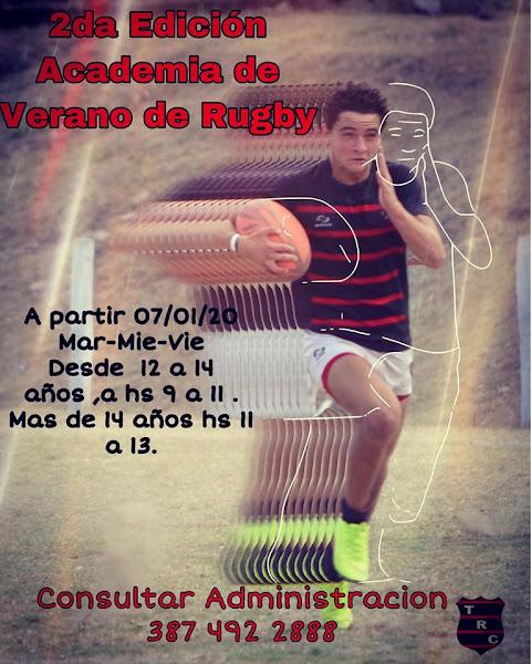 Academia de Verano de Rugby en Tigres