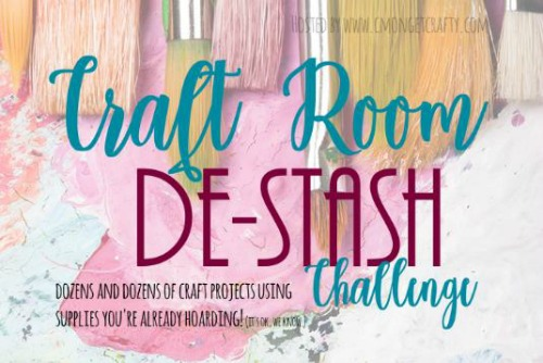 craft room destash challenge