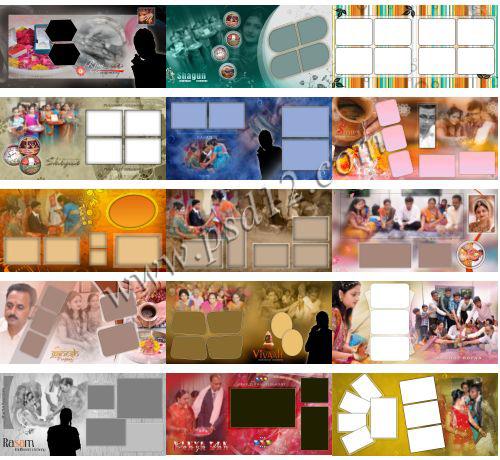 40+ 12x24 Marriage Photo Album PSD