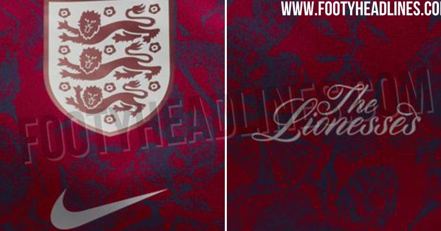 England 2019 Women s World Cup Away Kit Design Leaked 47d2f6ddf