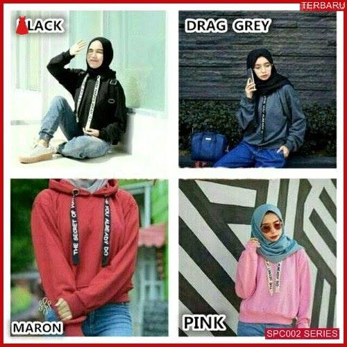 SCP002S60 Sweater Sella Tali Hoddie Outerwear Wanita | BMGShop