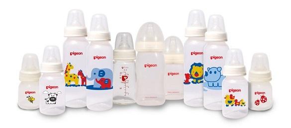 botol susu kecil untuk si bayi