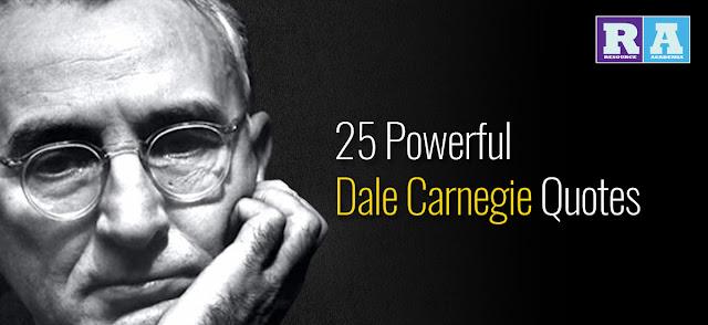 Dale Carnegie's 25 Inspirational Quotes ডেল কার্নেগীর স্মরণীয় ২৫টি উক্তি