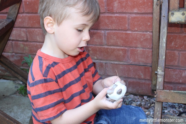 clay and nature craft