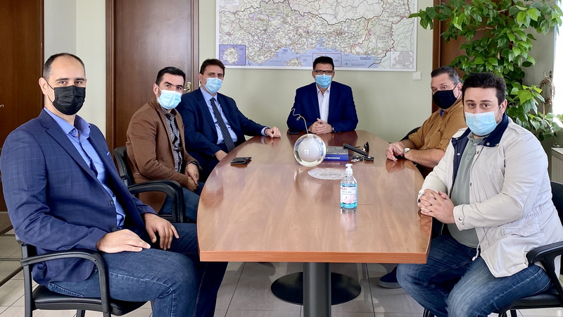 Συνάντηση Πέτροβιτς με το Δ.Σ. του Συνδέσμου Βιοτεχνιών - Βιομηχανιών και Εξαγωγικών Επιχειρήσεων Ν. Έβρου
