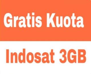 Cara Gratis Kuota 3 GB Indosat Ooredoo Work 2016