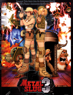 Metal Slug 3+arcade+retro+game+portable+pc+shooter+cover+art
