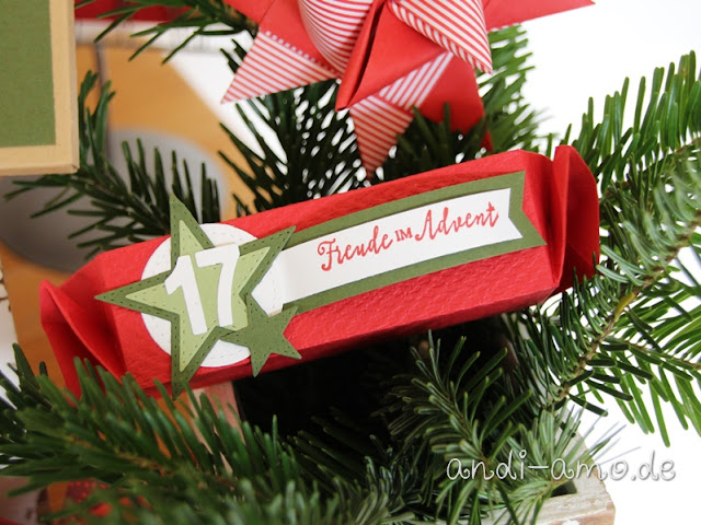 Adventskalender Stampin Up Freude im Advent