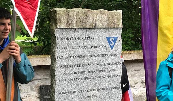 """Homenaje a los y las republicanas antifascistas de Mauthausen: """"Esperaré siempre tu regreso"""""""