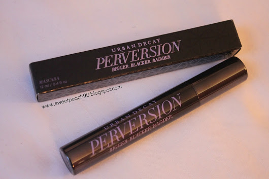 [REVIEW] Urban Decay Perversion Mascara