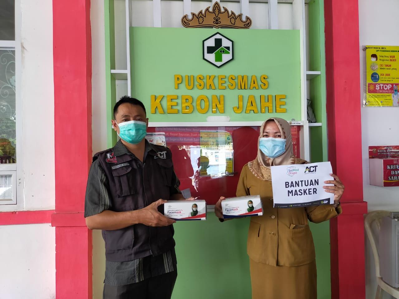 ACT Lampung Masih Menerima Bantuan Alat Pelindung Diri (APD) untuk Petugas Kesehatan