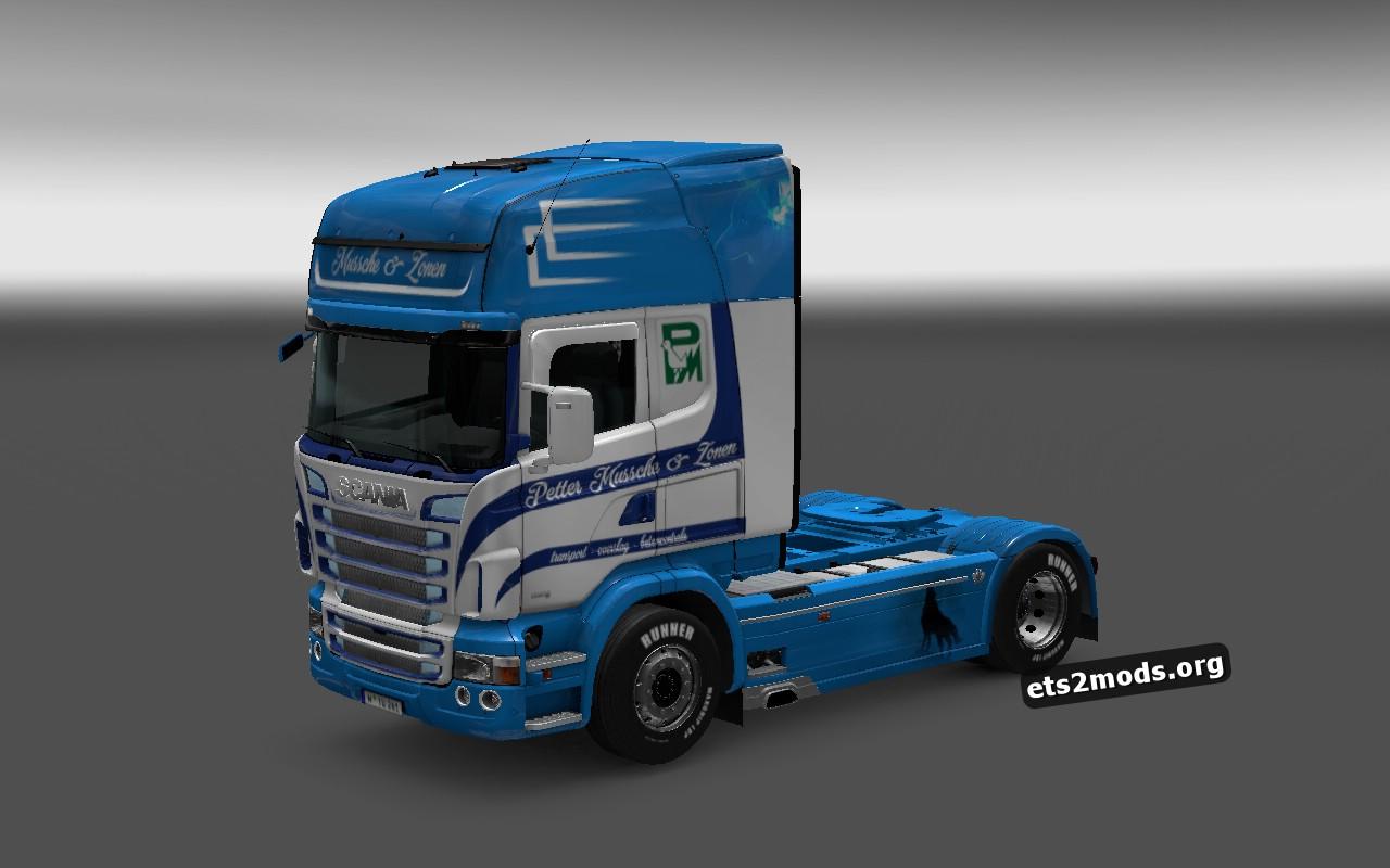 Scania RJLPeter Mussche & Zonen Skin