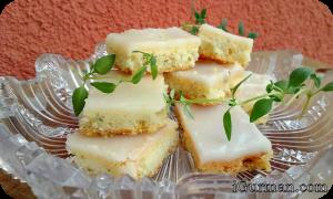Tymiánovo-citrónové koláčiky