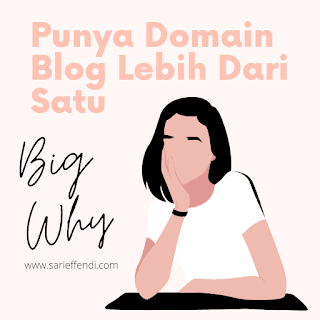 Big Why domain blog banyak