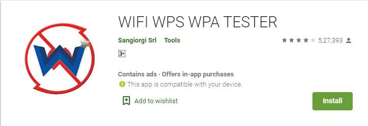 WIFI WPS WPA Tester
