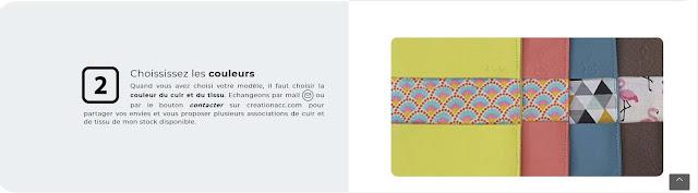 Choix du tissu du portefeuille