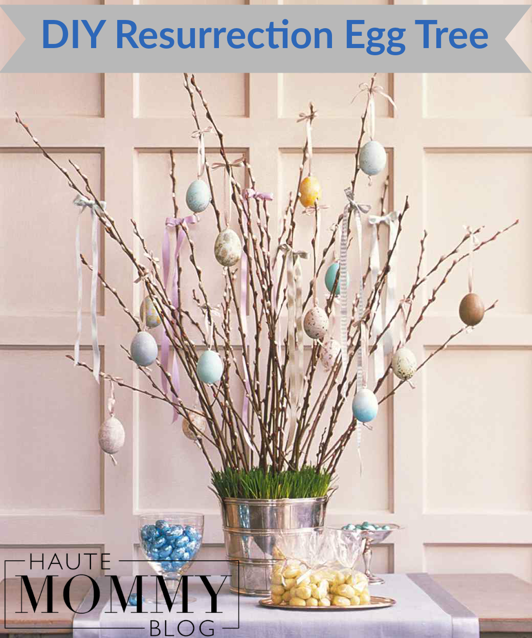 DIY Resurrection Tree for Kids Easter Crafts