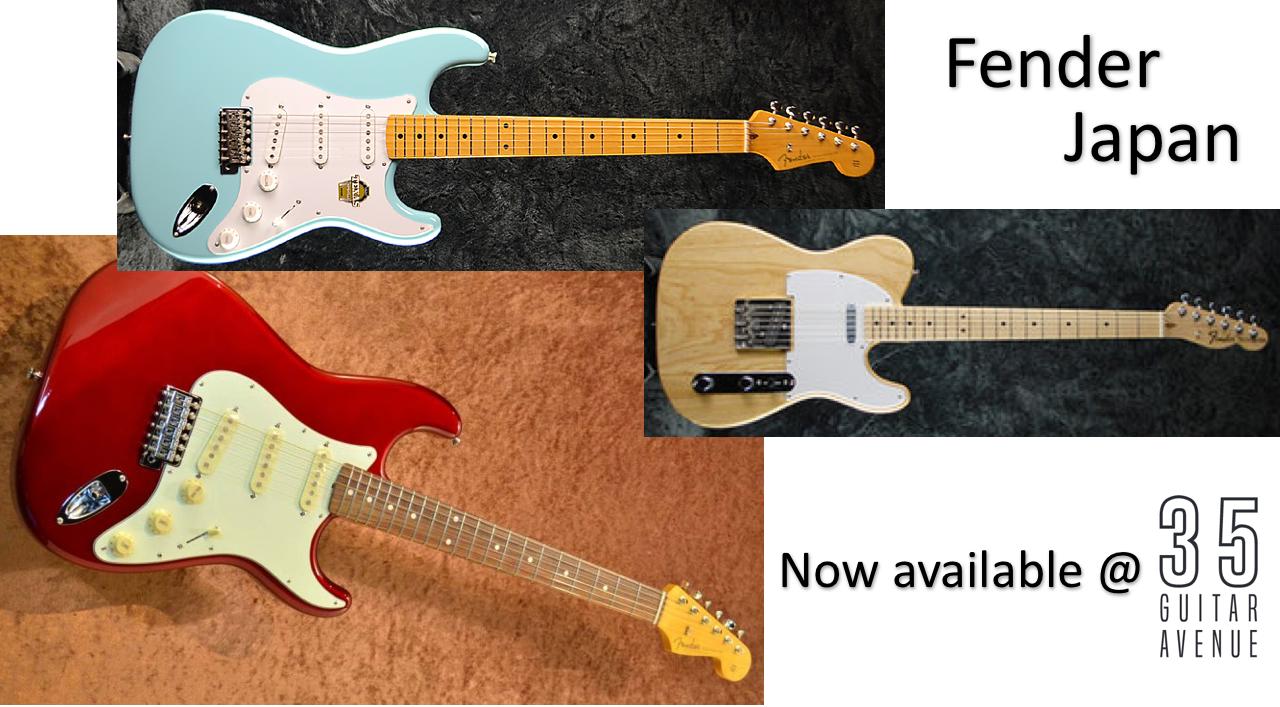 theGUITARaddict: Fender Jap @ the avenue